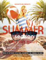 夏季主题海报