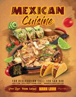 墨西哥美食海报