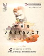 抽象音乐派对海报