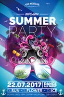 盛夏狂欢派对海报