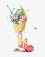 教师节唯美鲜花礼物