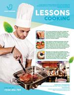 烹饪课程海报