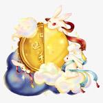 中秋月饼玉兔
