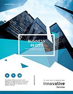 城市商务宣传单