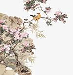 古典山水花鸟画