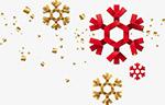 冬季创意折纸雪花