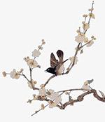 工笔画中国风花鸟
