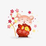 鼠年卡通鼠形象6