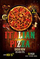 意大利披萨促销