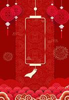 喜庆春节海报背