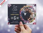 婚礼邀请卡模板