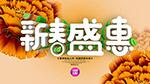 新春盛惠海报