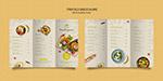 轻食餐饮折页菜单