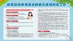 肺炎疫情防范展板