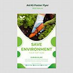 保护原生态环境海报
