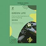 绿色生活环保海报