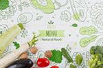 健康有机食物菜单
