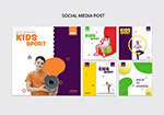 儿童运动社交媒体广告