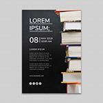 黑板书籍封面背景