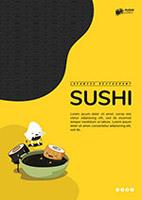 寿司店宣传单