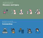 预防冠状病毒图标
