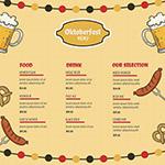 啤酒节菜单