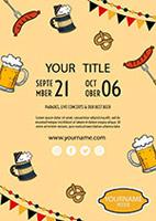 扎啤海报设计