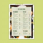 英文菜单排版设计