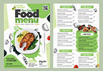 特色食物菜单