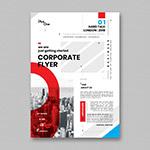 企业传单模板