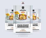 现代食品海报