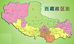 西藏行政�^域�D