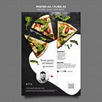 西餐烹饪书宣传单