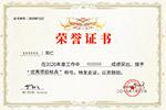 公司荣誉证书模板