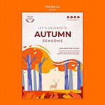 秋季概念海报