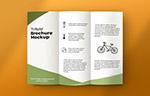三折页宣传册样机