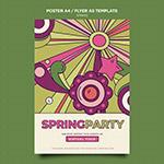 春季派对海报