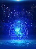 光效球体科技背景