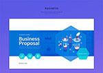 商业网页设计界面