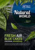 自然世界环保海报