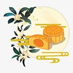 古风中秋节月饼
