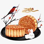 中秋节月饼玉兔