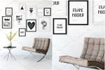 室内风格画框样机