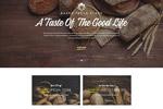 面包店网页模板