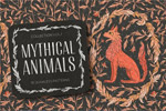 神话动物插画