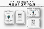 产品证书海报