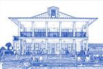 建筑蓝图PS动作