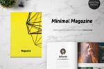 极简画册杂志模板