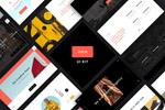 时尚网站UI模板