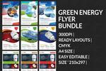 绿色能源宣传单